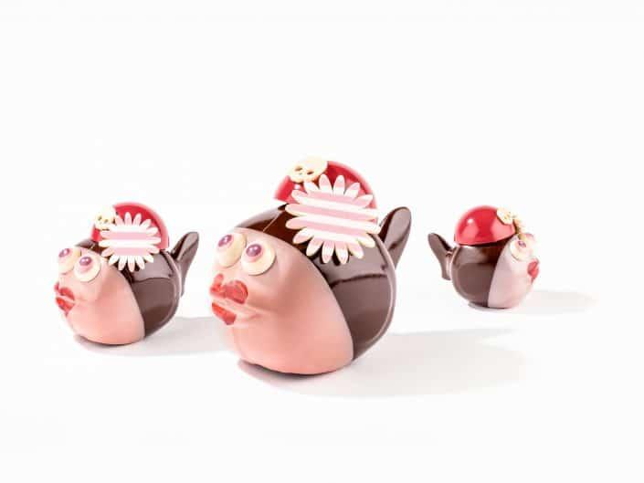 poissons pirates en chocolats pour paques