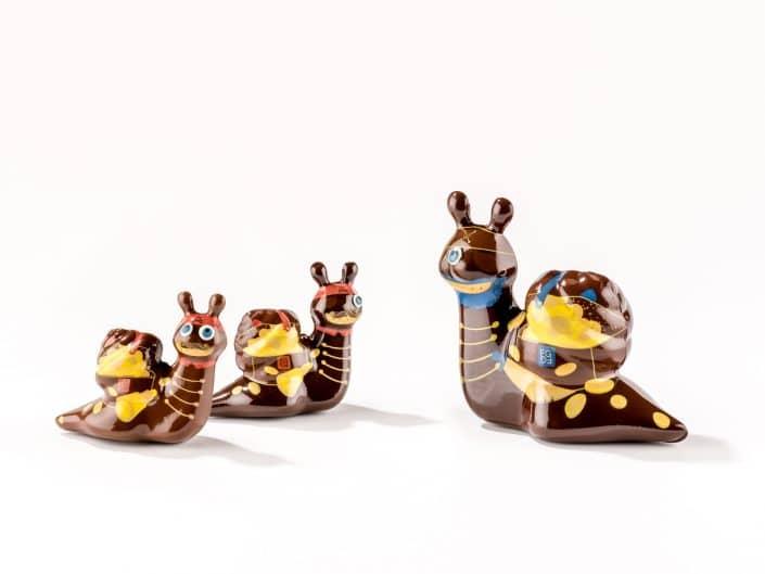 escargots en chocolats pour paques