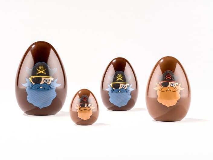 oeufs en chocolats pour paques