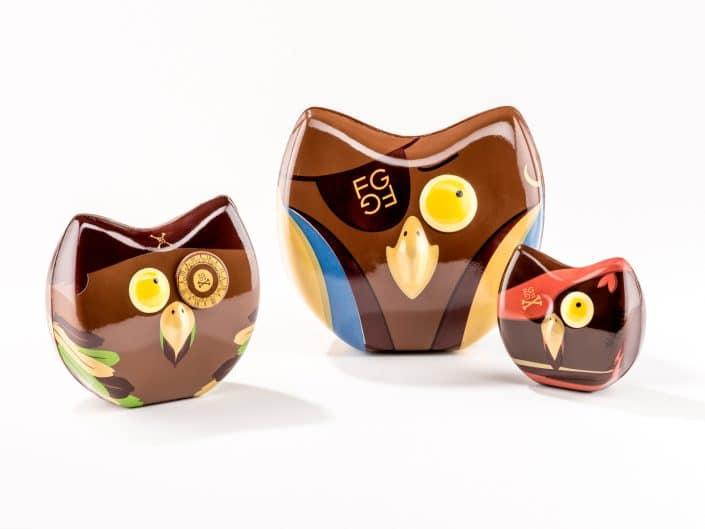 perroquet en chocolat pour paques